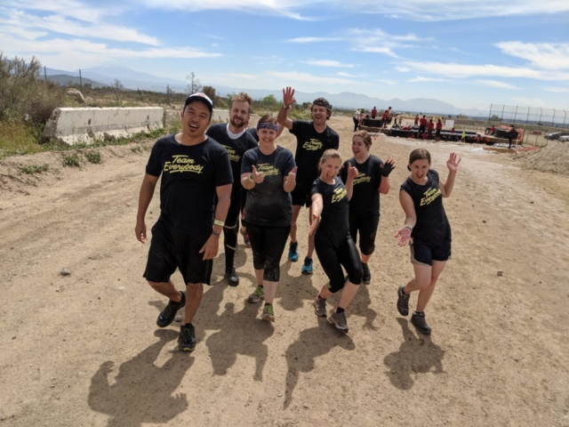 Tough Mudder Obstacle Course in Los Angeles